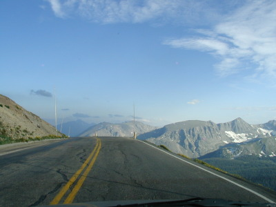Trail Ridge Road.