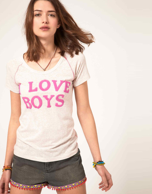 River Island I Love Boys T-ShirtMore photos & another fashion brands: bit.ly/JgY9Bx