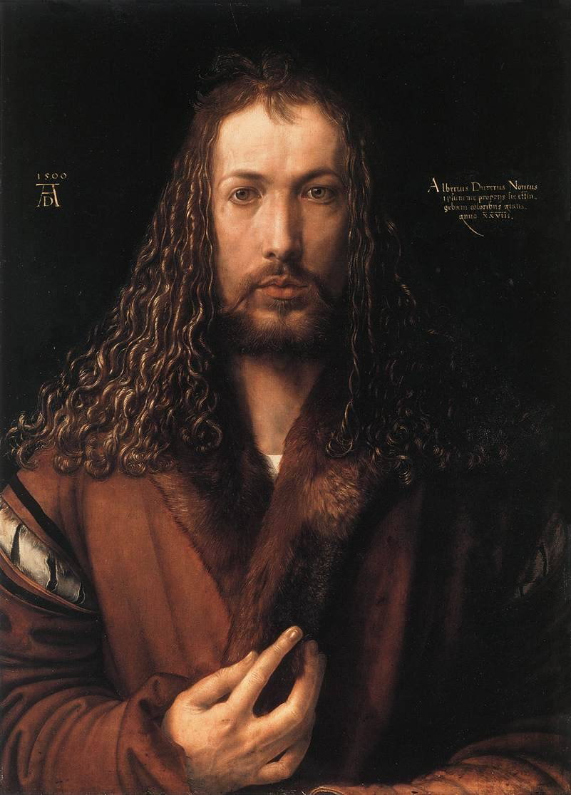 Also, Happy Birthday to the man who painted himself like Jesus, Albrecht Dürer!