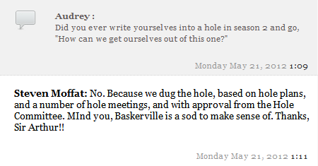 from the PBS livechat today. I want to attend some hole meetings.