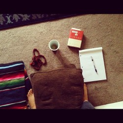 elizabeth-antoinette:  Monday morning meditation space. (Taken with instagram)