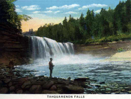 Tahquamenon Falls, Paradise, Michigan Source: seekingmichigan