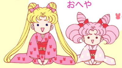 fckyeahsailormoon:  美少女戦士セーラームーン  I thought my big sis would think this was cute~!! Let's cosplay Sailor Moon and Chibi Usa sometime big sis! (We also just recently cosplayed Sailor Mars [Big Sis] and Sailor Mercury [Little Sis]! It was so much fun!)