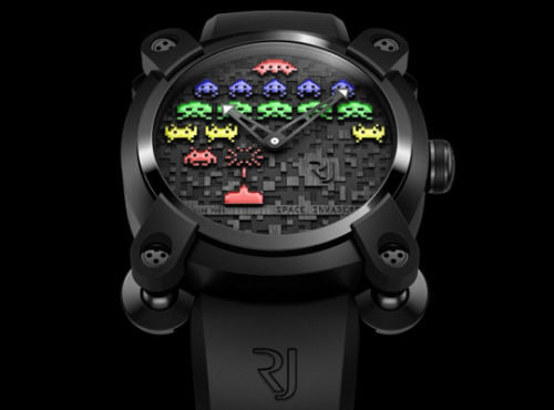Romain Jerome. Space Invader Watches