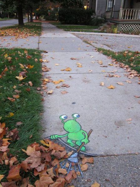 Don't be lazy! [Street Art]