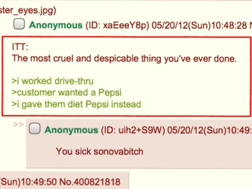 ircimages:  4chan is a cruel place