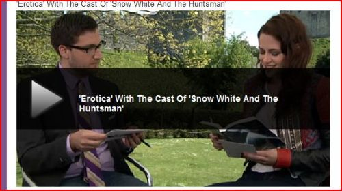 CLICK HERE TO WATCH  Cast of Snow White and The Huntsman read Twilight-Fan fiction-Erotica - Spin off 50 Shades of Grey    OH SO HAPPY TRAIL  OH SO HAPPY TRAIL  OH SO HAPPY TRAIL