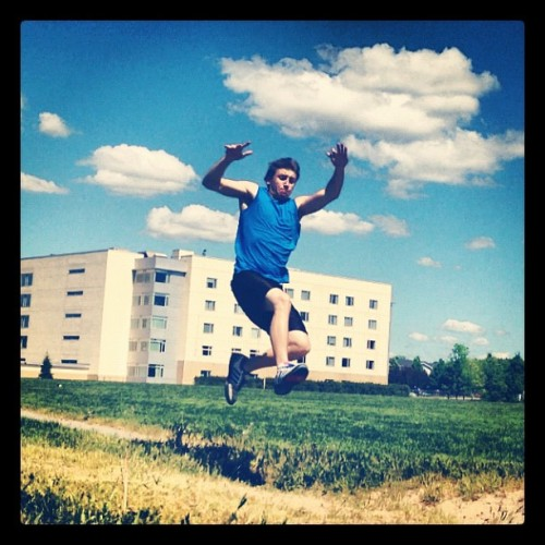 Long jump (Taken with instagram)