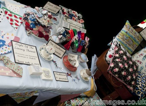 Pic from my stall at the market yesterday, spot the new items :D