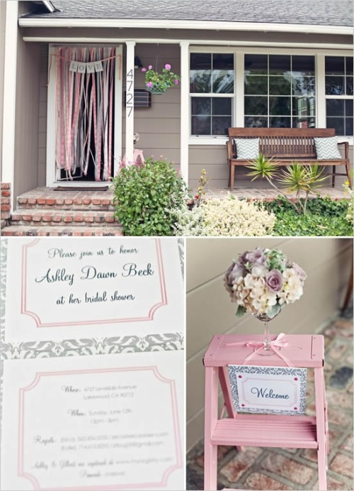 Little details are so sweet for your bridal shower.
