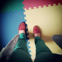 #photoadaymay #day21 #whereyoustand #red #green #blue #Yellow #daycare #ilovemyjob  (Taken with instagram)