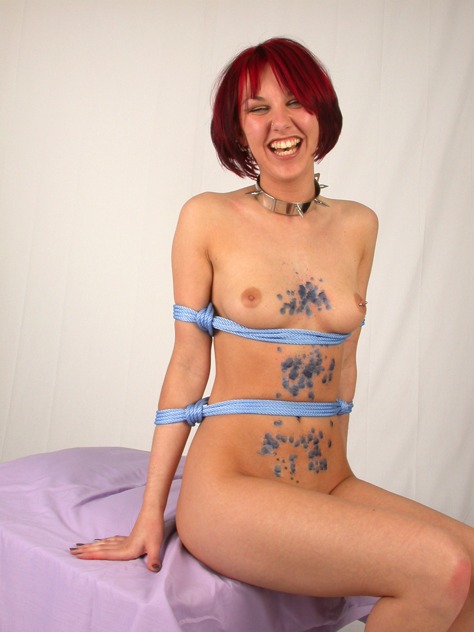 happybdsm:  Hot wax? Pah! (Submission by Furneaux/Stu of FX Photographic)