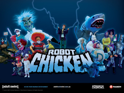 Guess what I'm doing this Summer?! Interning on Robot Chicken, THAT'S WHAT! I am going to be in the puppet department, learning a ton and meeting awesome people. SO EXCITING!!!
