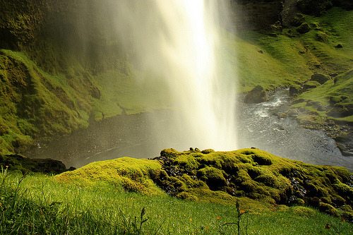 definitelydope:  Kvernufoss (Waterfall) (by Anna.Andres)