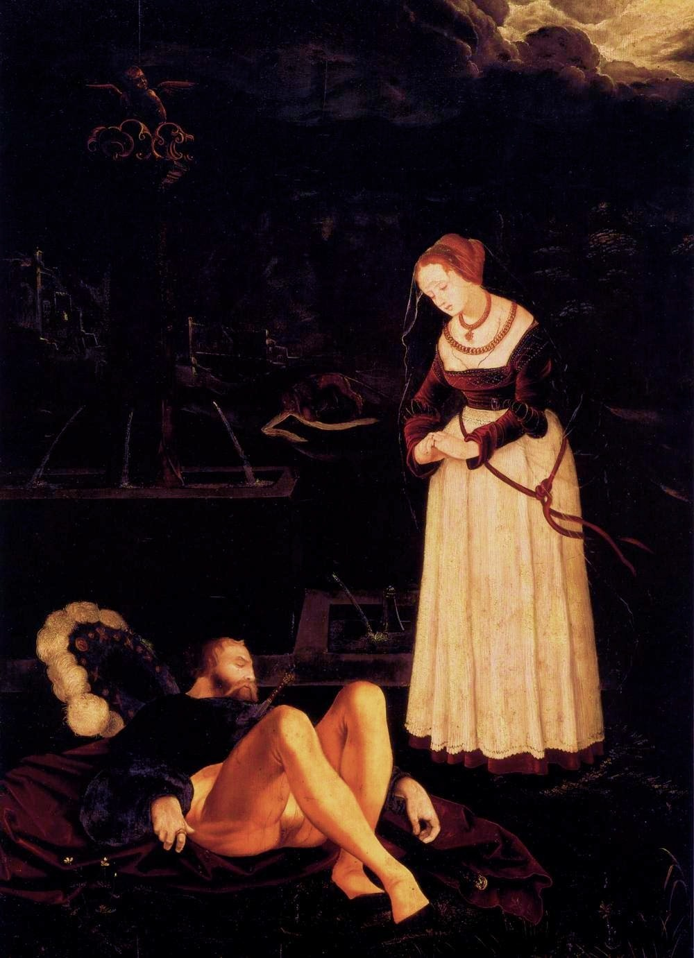 tagaoth:  Pyramus and Thisbe  -Hans Baldung ~1530