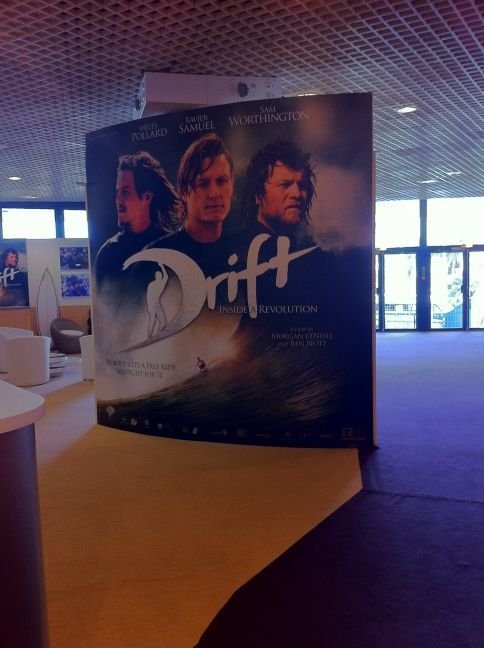 samworthingtonforum:  Cannes Poster For Sam Worthington Movie 'Drift' Huge thanks to @FredMyscreens on Twitter for giving us permission to show you the picture he took of the 'Drift' poster he spotted at the Cannes Film Festival. Thanks babes!!! xxx
