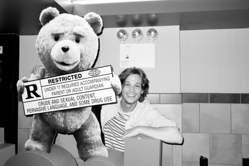 terrysdiary:  At the movies with Gubler #3