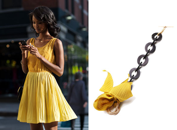 THIS OUTFIT REMINDS US OF our bow bracelet