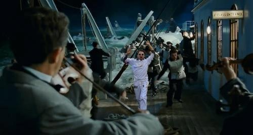 Matt running on the Titanic XD