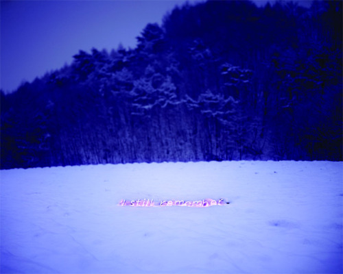 Neon text installation by Jung Lee via:uniquetemperament