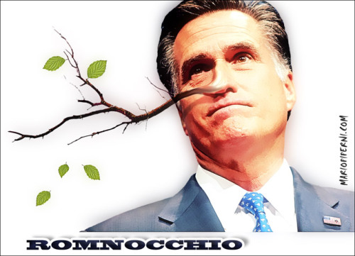 truth-has-a-liberal-bias:  destroythegop:  Romney the Liar © Mario Piperni  Daily Kos: All Romney's Lies in One Handy Place — with Links!  republicanidiots