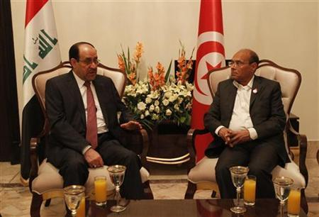 "Reuters | Maliki, in charm offensive, invites scholars to Baghdad By Alister Bull Iraqi Prime Minister Nuri al-Maliki, concerned by his portrayal in U.S. media as an autocratic leader intent on consolidating power, has invited several influential Washington scholars to Baghdad to meet his team next week. The rare invitation was extended to Kenneth Pollack of the Brookings Institution, Danielle Pletka of the American Enterprise Institution and Joost Hiltermann of the International Crisis Group, Reuters has learned. ""I think it a very smart and constructive step on his part,"" said Pollack, a former CIA military analyst who served in President Bill Clinton's White House and also authored an influential book backing the 2003 U.S.-led invasion of Iraq. Maliki's opponents have accused the Shi'ite leader of amassing power they fear will restore the dictatorship toppled by the United States when it felled Saddam Hussein. Iraqi officials said the idea behind inviting the scholars was to put out Baghdad's side of the story and respond to a ""deliberate distortion of reality"" being promoted by Maliki's opponents. ""He feels that there is an increasing hostile activity against Iraq and the Iraqi government that attempts to give an unfavorable and negative picture about the situation in Iraq,"" said Ali Al-Mussawi, chief media adviser to the prime minister, responding to an enquiry made to Iraq's embassy in Washington. President Barack Obama's decision to withdraw all U.S. troops from Iraq by the end of last year is blamed by critics for a political crisis that erupted as soon as they left and has raised fears the country could tip back into civil war. FULL ARTICLE (Reuters)"