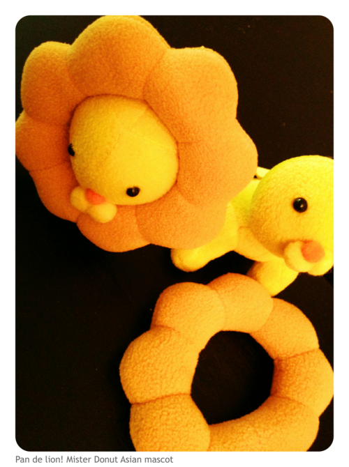 I fell hard for this lion in Japan. Found them on eBay!