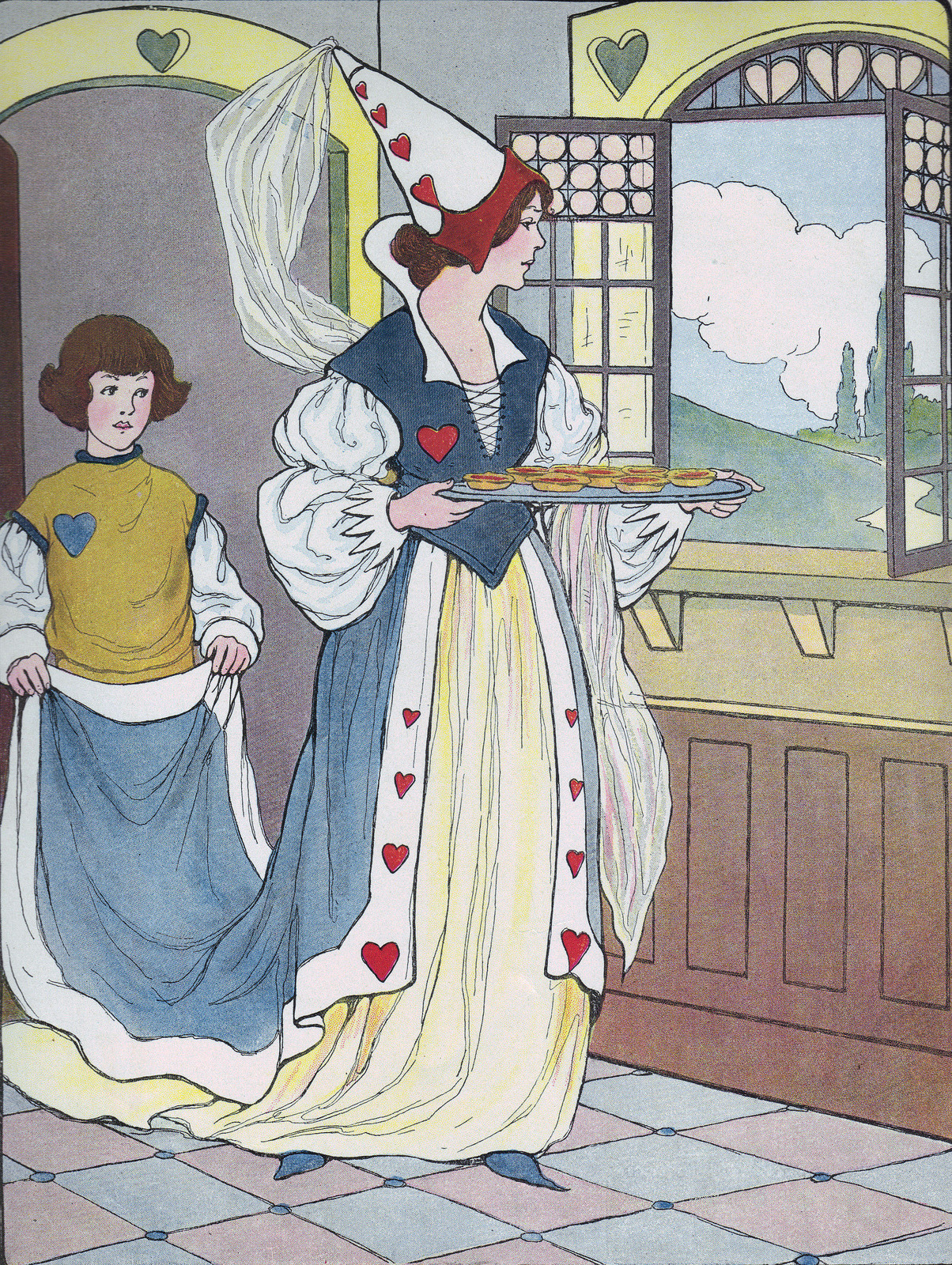 "via katinthecupboard  ""Favorite Mother Goose Rimes"" illustrated by Blanche Fisher Wright and published by Rand McNally & Co., who copyrighted in 1916."