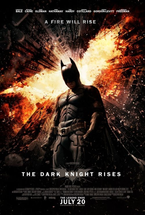 Brand new The Dark Knight Rises poster!  YAY!! XD
