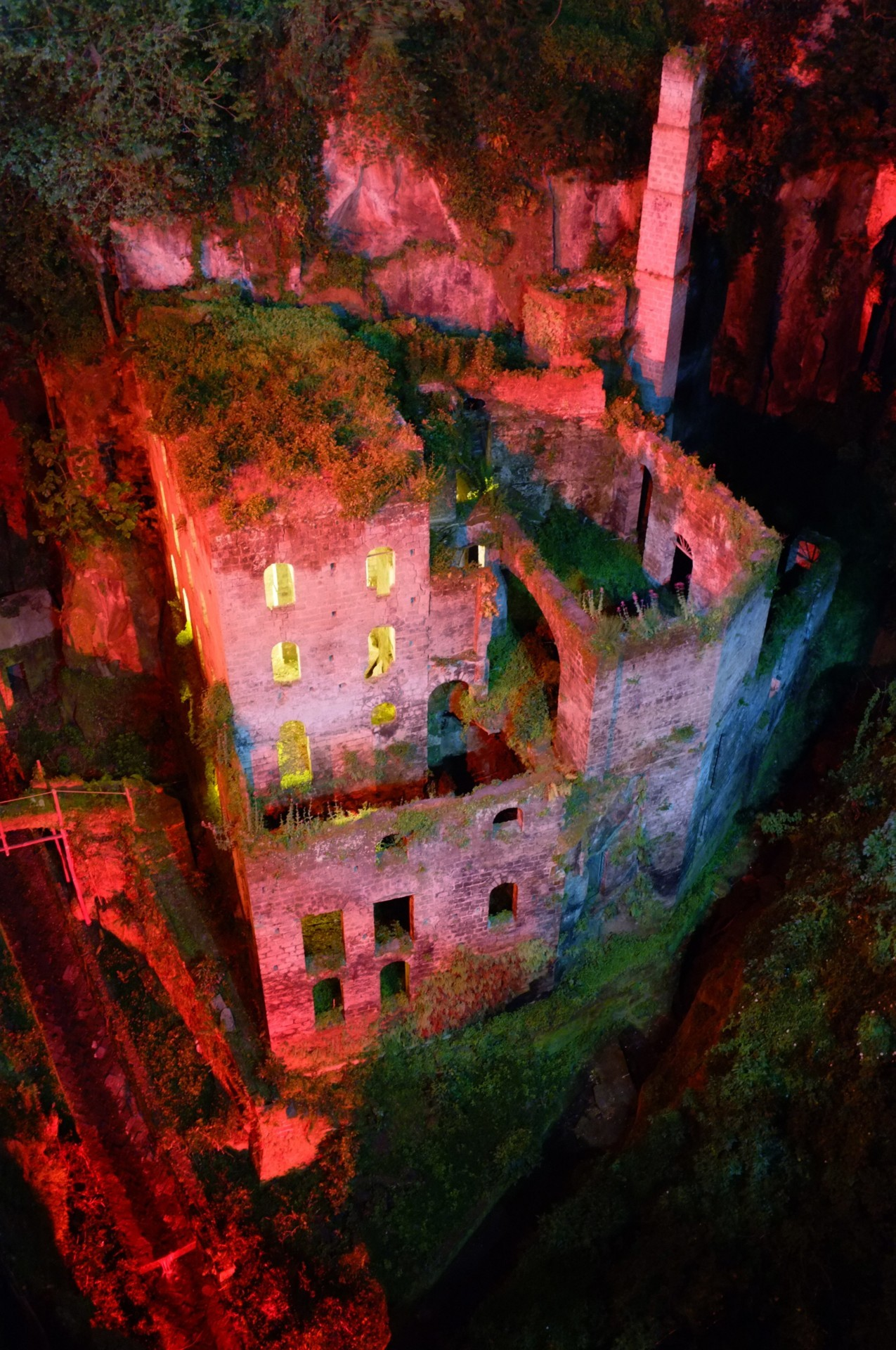 scavengedluxury:  Intense abandoned mill at night. Sorrento, May 2012.