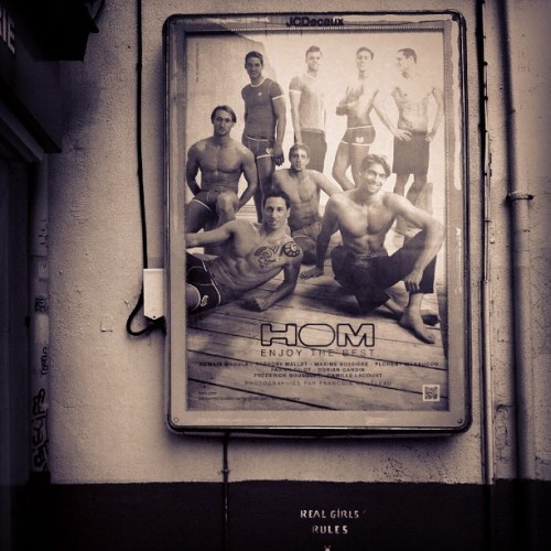 HOM Enjoy the Best - French Olympic Male Swim Team (Taken with instagram)