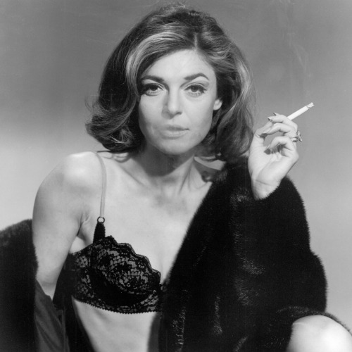 Anne Bancroft as Mrs. Robinson in The Graduate 1967