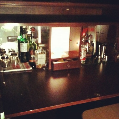 Say hello to my newly filled 70s drinks cabinet!  (Taken with instagram)
