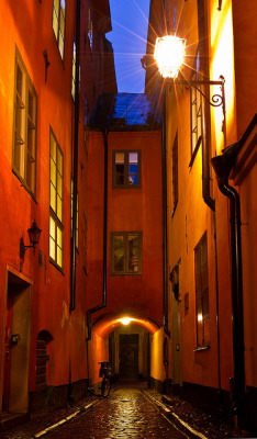 travelthisworld:  Old Town, Stockholm, Sweden