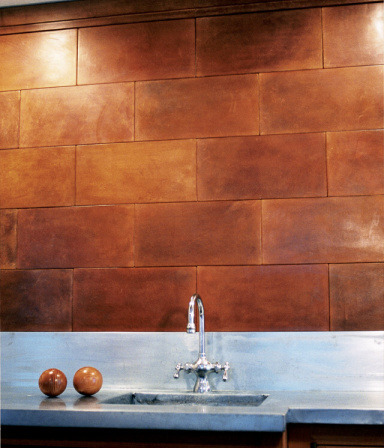 Leather Wall Tiles by Ann Sacks
