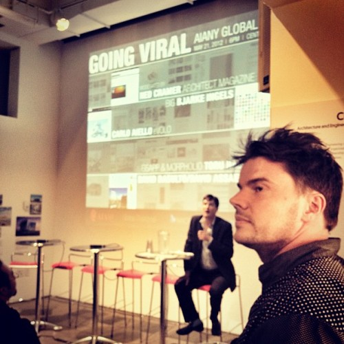 "About to ""Go Viral"" at the CenterForArchitecture with @BjarkeIngels #newyork #architecture #archdaily  (Taken with Instagram at Center for Architecture)"