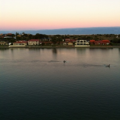 The view from my hotel room in Adelaide. Wonderful to wake up to every morning!