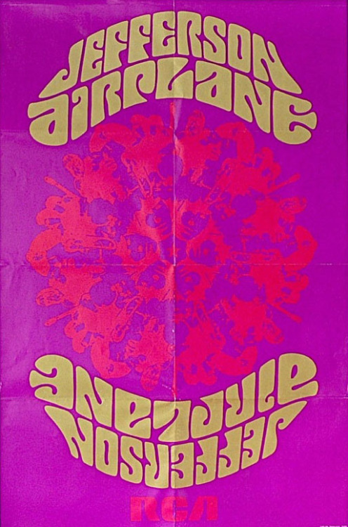 psychedelic-sixties:  Jefferson Airplane – Crown Of Creation 1968 Promo Poster