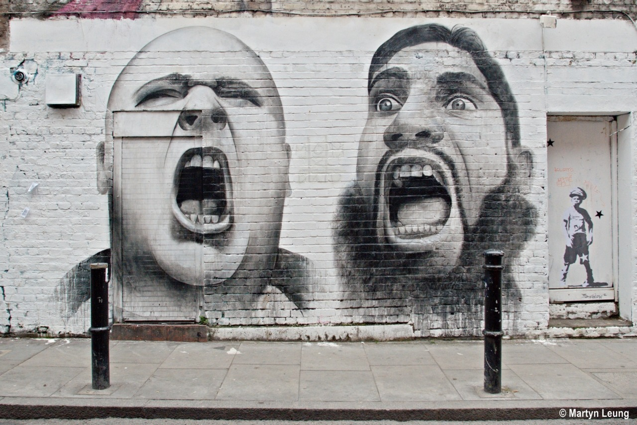 martynleung:  London Street Art   Photograph © Martyn Leung  (via imgTumble)
