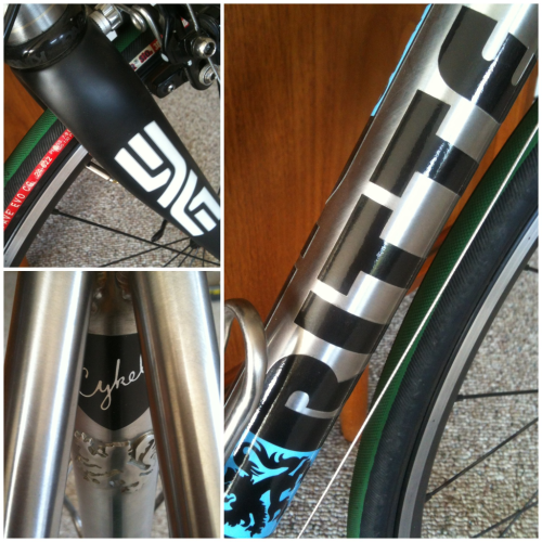 Couple quick snaps of my new @ritteracing custom stainless. Full photos and writeup to follow soon.