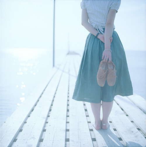 javiercarretefiatlux:  Her brown shoes by Yuichiro Miyano
