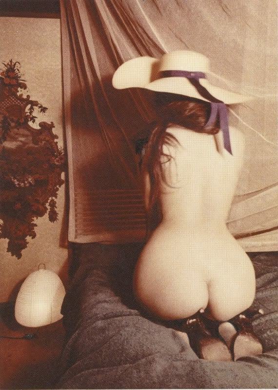 hollyhocksandtulips:  Polaroid by Carlo Mollino