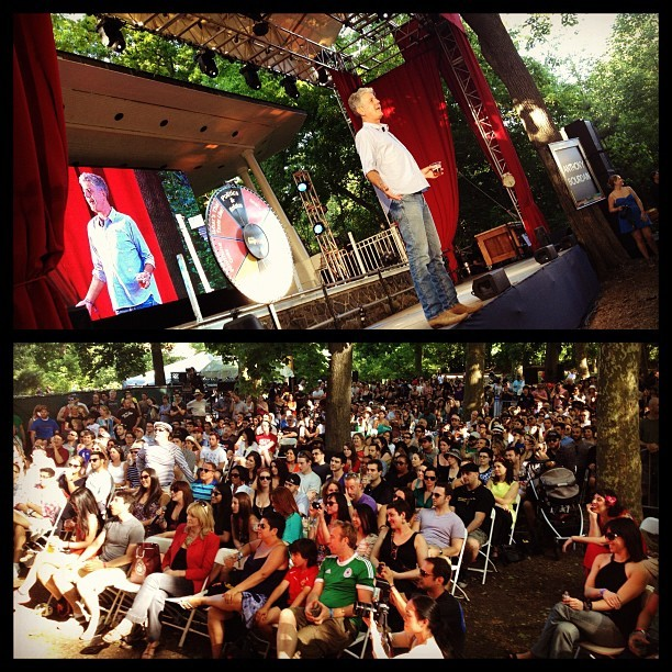 Tony's talk at #googamooga (Taken with instagram)