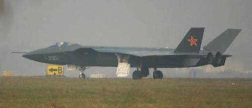 China's new stealth fighter might be ready sooner than we anticipated… The J-20 stealth fighter, which former Secretary of Defense Robert Gates predicted wouldn't be ready before 2020, may be ready as early as 2018 according to new estimates from the Pentagon. The new report, which also reveals that China possesses at least 3 nuclear-capable submarines, includes other information that surprised many top U.S. defense officials. While it did reiterate the commonly held belief that China will not fully catch up to the United States military before 2020, there are certainly new developments which have the Pengaton's attention. (Photo via roberthuffstutter) source  Follow ShortFormBlog: Tumblr, Twitter, Facebook