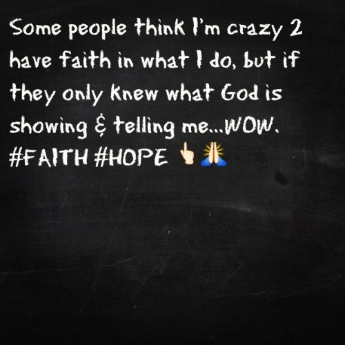 Faith. Hope. Trust. GOD. (Taken with instagram)