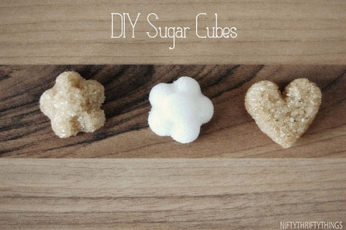Perfect little sugar shapes (: Instructions here