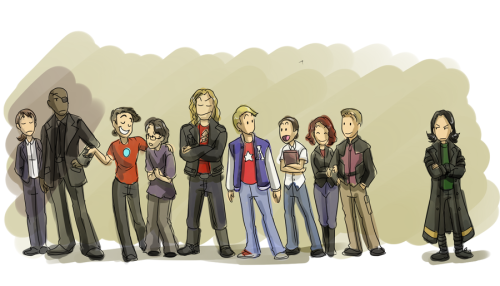 Avengers High by ~forte-girl7
