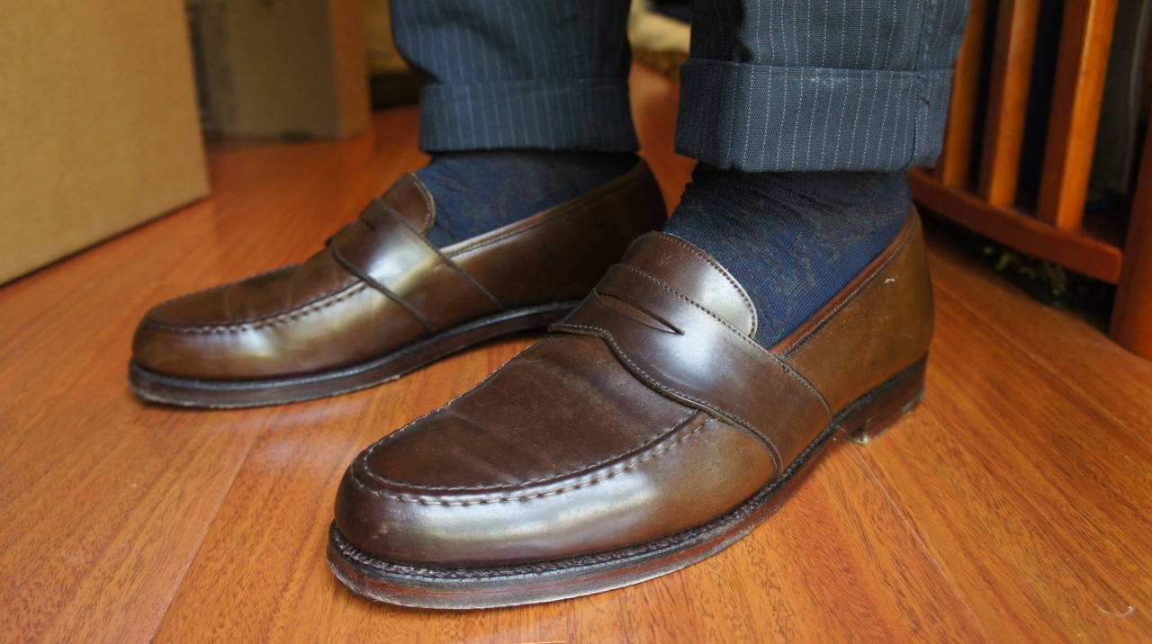 WAYWT: Ralph Lauren Shell Penny Loafer