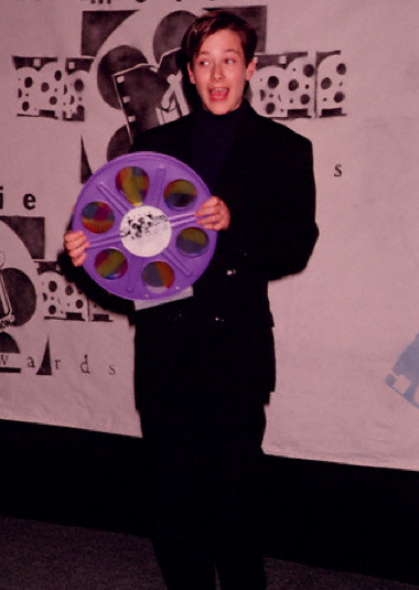 Eddie Furlong at the peak of his career, MTV Movie Awards, 1992.