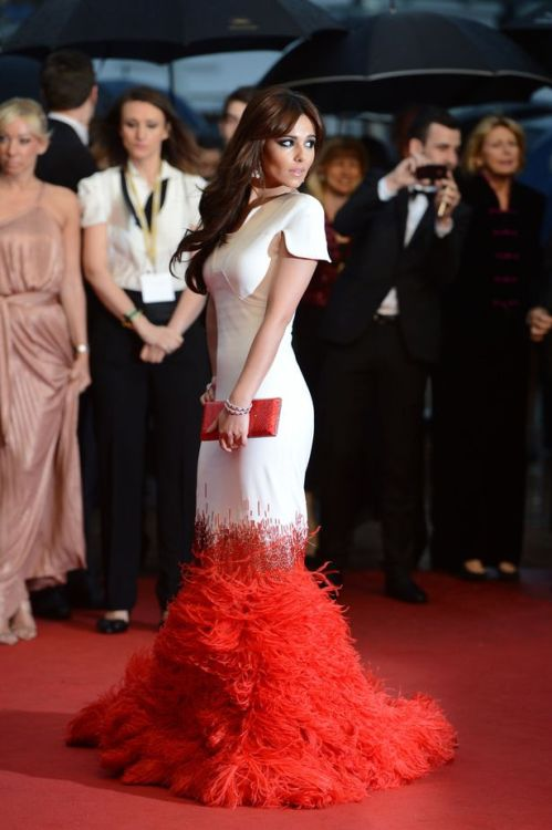 white-naomi-campbell:  Cannes 2012 fashion (so far): Cheryl Cole, Bérénice Bejo, Jessica Chastain, and more // IN FAME WE TRUST